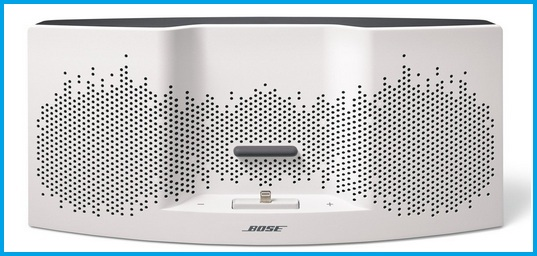 Bose White speaker dock in 2015