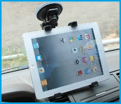 Mirror iPad car mount stand