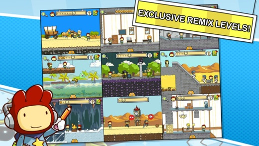 Scribblenauts iPhone, iPad and iPod games