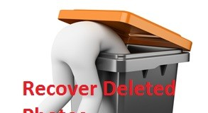 Get back from deleted photos in iPhone, iPad