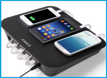 Best Multiport Usb Charging Dock With Stand 2016
