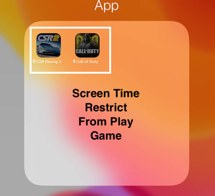 Apps Limit is enabled for installed game on iPad