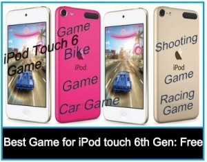 Best Game for iPod touch 6th Gen: Free and Pro