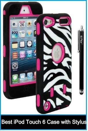 2015 Best iPod Touch 6 Case with Stylus