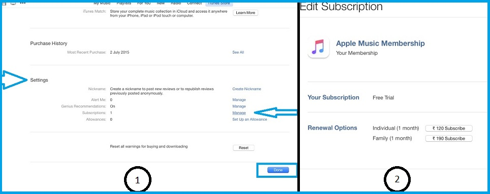 On mac change subscription plan