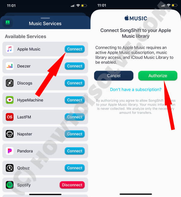 Connect Apple Music