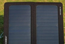 ECEEN Solar Charger for iPhone, tablets and other Smartphone's, iPad Air, iPad Mini