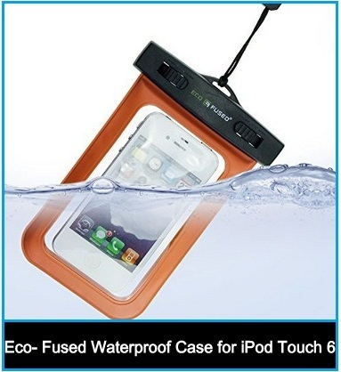 Eco- Fused Waterproof bage style Case for apple iPod Touch 6th generation