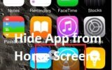 Remove app icon or Hide app from Home screen