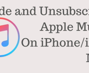 Hide or Unsubscribe Apple Music on iPhone iPad or Mac