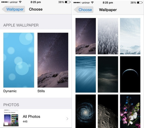 how to change lock screen wallpaper on iphone 6 6 plus