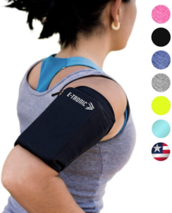 Slim Sleeve Phone Armband by E Tronic