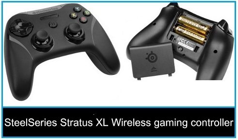 Best iPod touch 6 Gen wireless Gaming Controller: SteelSeries Stratus XL Wireless gaming controller