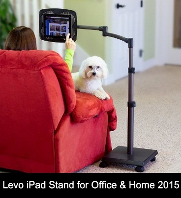 Levo best iPad floor Stand for bed 2016