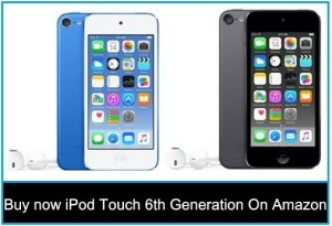 Buy now iPod Touch 6th Generation Amazon – Free Shipping