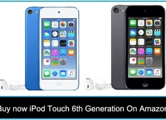 Buy now iPod Touch 6th Generation Amazon – Free Shipping 2015