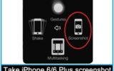 How to take iPhone 5S/iPhone 5 screenshot