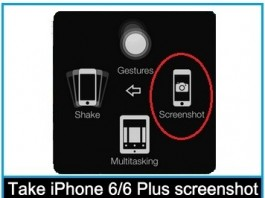 How to take iPhone 5S/iPhone 5 screenshot