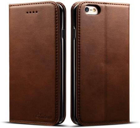 iPhone 6S Flip + Wallet Case by DINGXIN