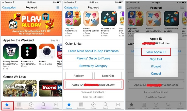 How to change app store country region on iphone ipad for Apps to change photos