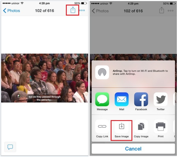 Save photo and video from dropbox to iPhone or Other iOS device