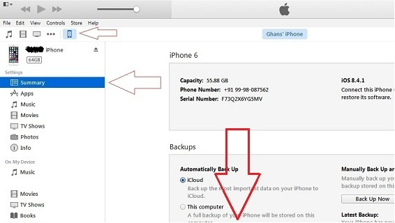 Turn off Auto sync iPhone with iTunes in Mac/ PC