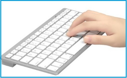 OMOTON Bluetooth keyboard for iPhone