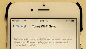 Sync iOS device now to Mac or PC