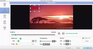 How to make Blu ray DVD with subtitle in Mac OS X: Yosemite/ Other
