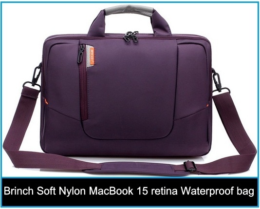 Brinch brings Soft Nylon MacBook 15 retina Waterproof bag