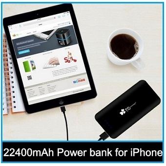 good 22400mAh Power bank for iPhone 6, iPhone 6 Plus, iPad Air, iPad Mini