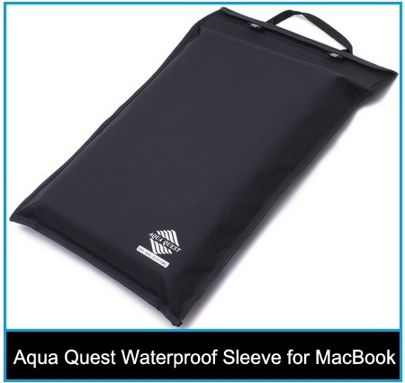 best long life Aqua Quest Waterproof Sleeve for MacBook