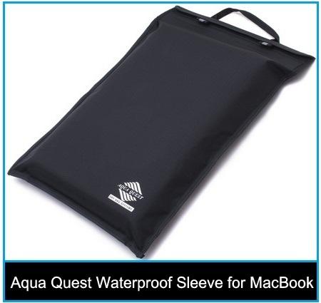 best long life Aqua Quest Waterproof Sleeve for MacBook