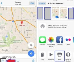 how to print document from your iPhone 6 plus to Printer