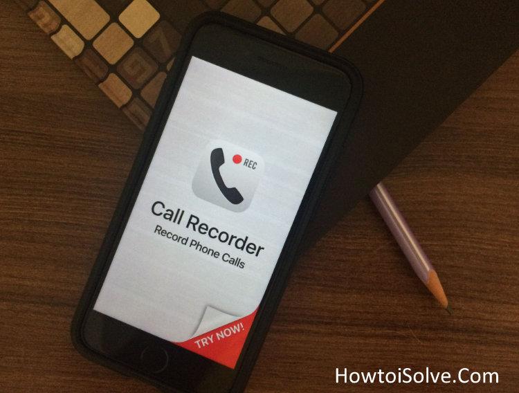 Как записывать входящие звонки на iPhone