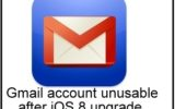 best solution as How to fix Gmail account unusable after iOS 8 upgrade