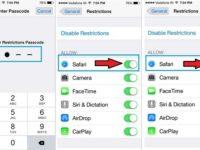 How to hiding safari app on iPhone 6, 6 Plus, iPhone 5S,5 or iPad Air, iPad Mini