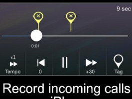 How to record incoming calls on iPhone 6