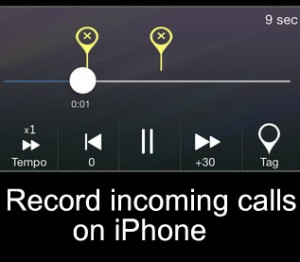 How to Record incoming Calls on iPhone X/ 8/ 8 Plus/ 7/ 7 Plus/ 6S/6S Plus/6/6+/SE