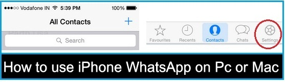 How to use iPhone WhatsApp on Pc without jailbreak