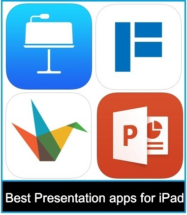Best online PowerPoint Presentation maker apps for iPad air and iPad mini
