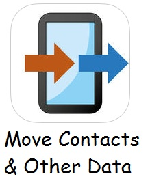 Transfer contacts from android to iPhone and other iOS device