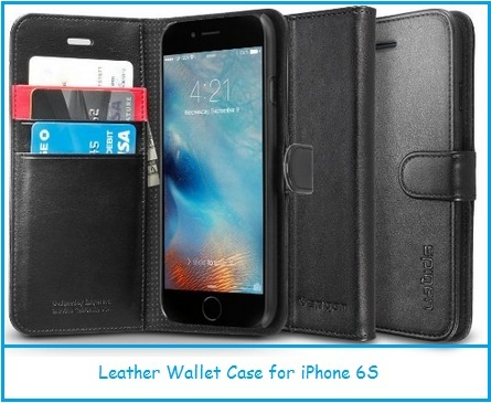 Best iPhone 6S cases in leather and wallet