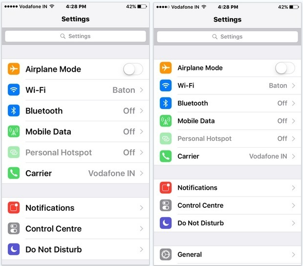 Change text size and Style in iOS 9 installed iPhone, iPad and iPod Touch