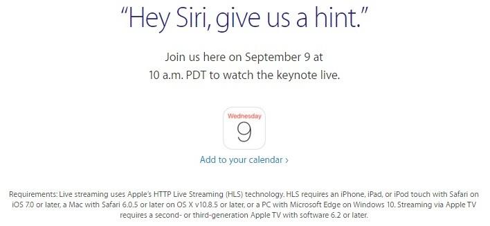 Watch live keynote 2015 on IOS or Mac Device