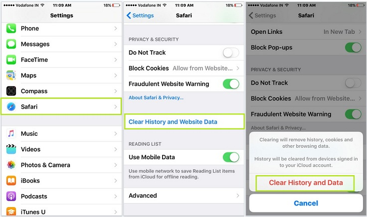 How to Clear Search History on iPhone - Image 1