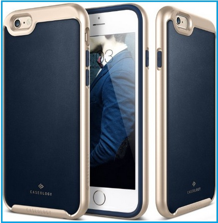 Pure leather case for iPhone 6S