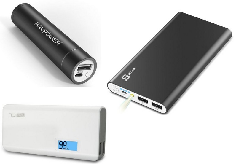Portable battery charger for iPhone 6s