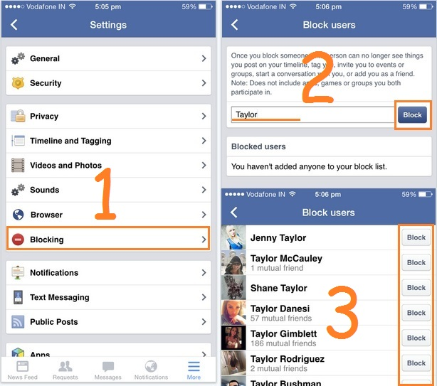Block Facebook Friends On IPhone: Known/ Unknown [How To]