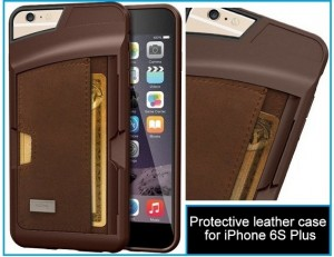 Best iPhone 6S plus leather Cases: Protective and durable